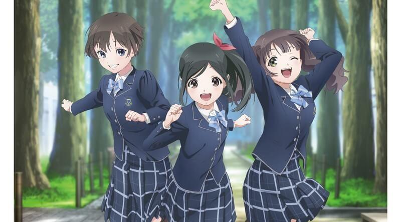 3 Orang Gadis Manis Terpilih Sebagai Idol Wake Up Girls Shin Sho Dan Asli Situs Resmi Dari Anime Baru Saja Menampilkan