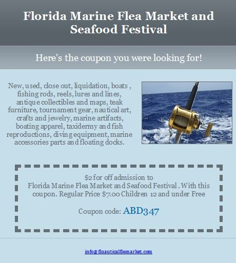 The Florida Marine Flea Market Seafood Festival West Palm Beach 9