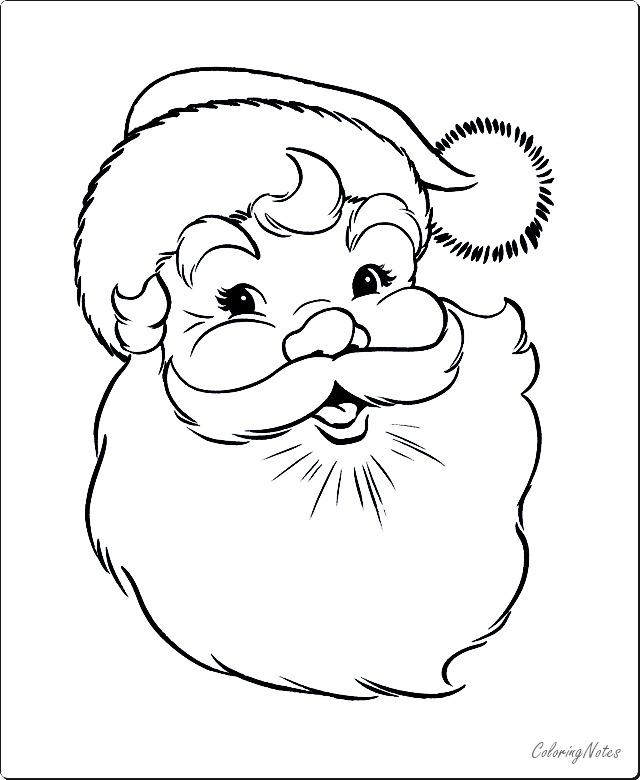 Santa Claus Coloring Pages Free Printable Santa Coloring Pages Christmas Coloring Pages Free Christmas Coloring Pages