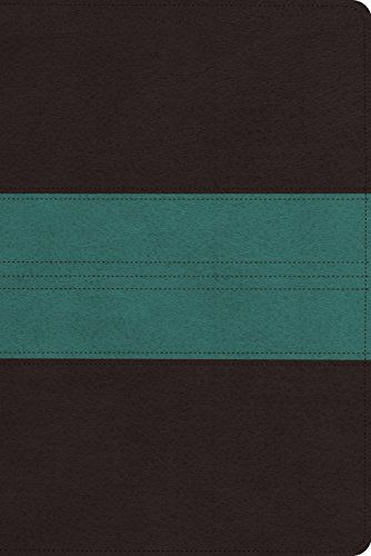 ESV Personal Reference Bible (TruTone, Dark Brown\/Teal, Trail - personal reference