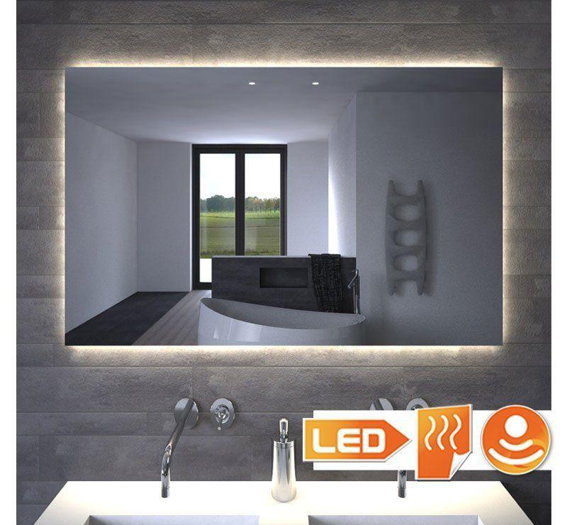 LED spejl med belysning, opvarmning og berøringssensor 100