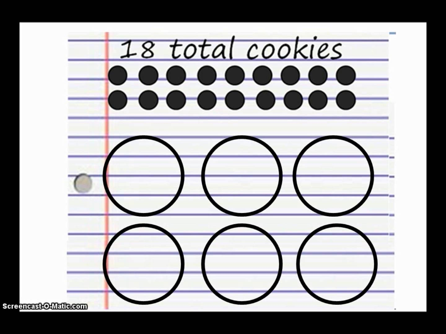 Cookie Division Making Equal Groups