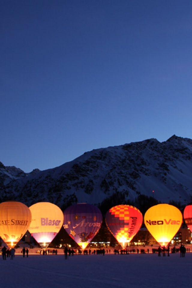 Hotair ballooning - Arosa