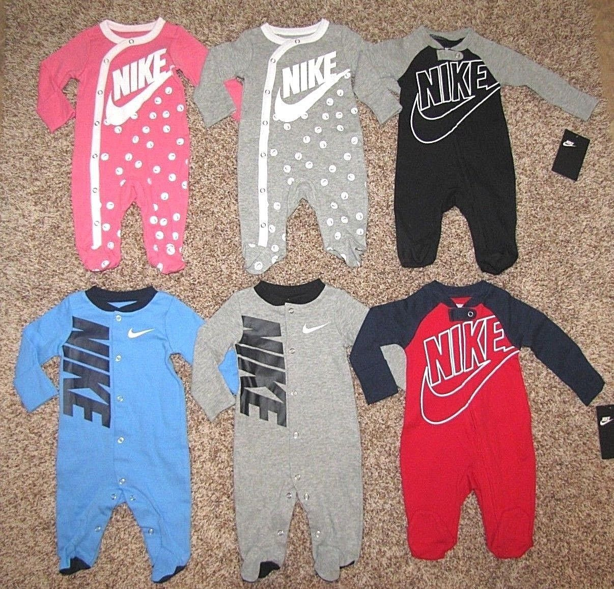e4c1bbeaf82 Outfits and Sets 147333  Nike Futura Footed Coverall Baby Infant 0-3 3 6 9  Months Boys Girls Pajama -  BUY IT NOW ONLY   20.95 on  eBay  outfits   futura ...