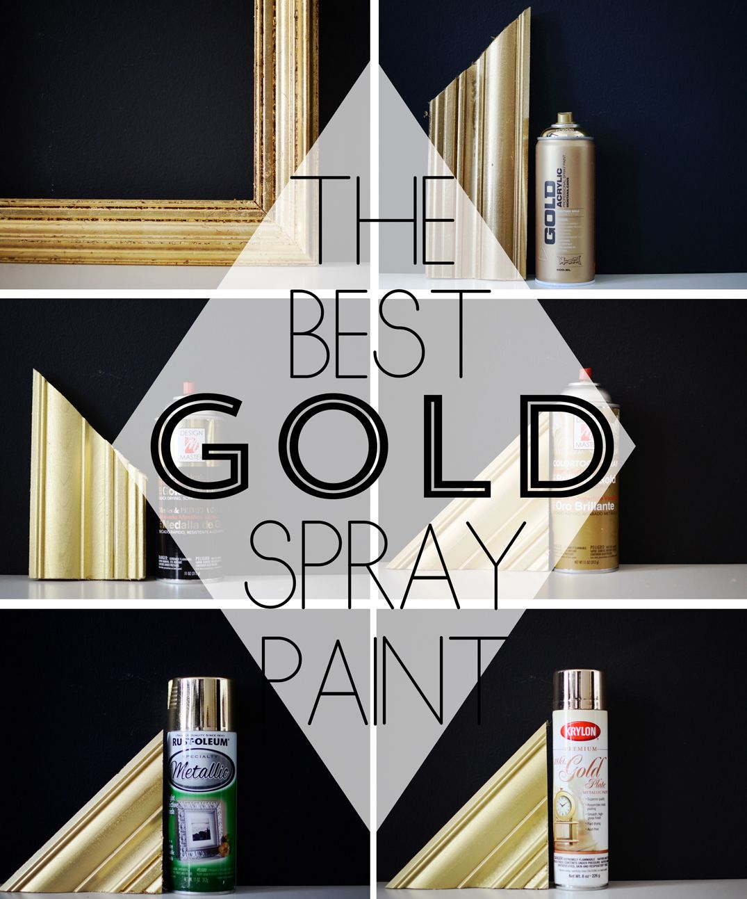 Finding The Perfect Gold Spray Paint Best Gold Spray Paint Gold Spray Paint Gold Spray