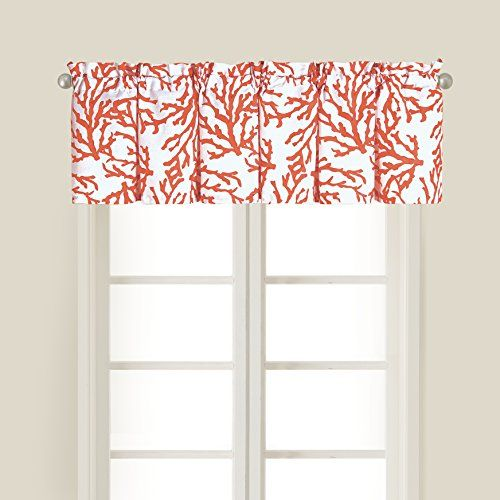 15 5x72 Valance Cora C F Enterprises Inc Http Www Amazon Com Dp B00jne8o9i Ref Cm Sw R Pi Dp 42s4tb1hgh Coastal Bedrooms Valance Valance Window Treatments
