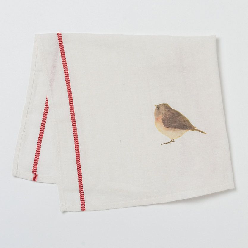 Sweet bird tea towel  #shopterrain