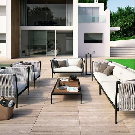 Un salon pour mon jardin ! | Outdoor Living | Outdoor sofa, Outdoor ...