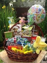 This easter gift basket is full of goodies contents include this easter gift basket is full of goodies contents include brent sams gourmet negle Image collections
