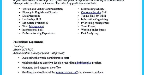 To Write An Athletic Director Resume Is Not Too Different From