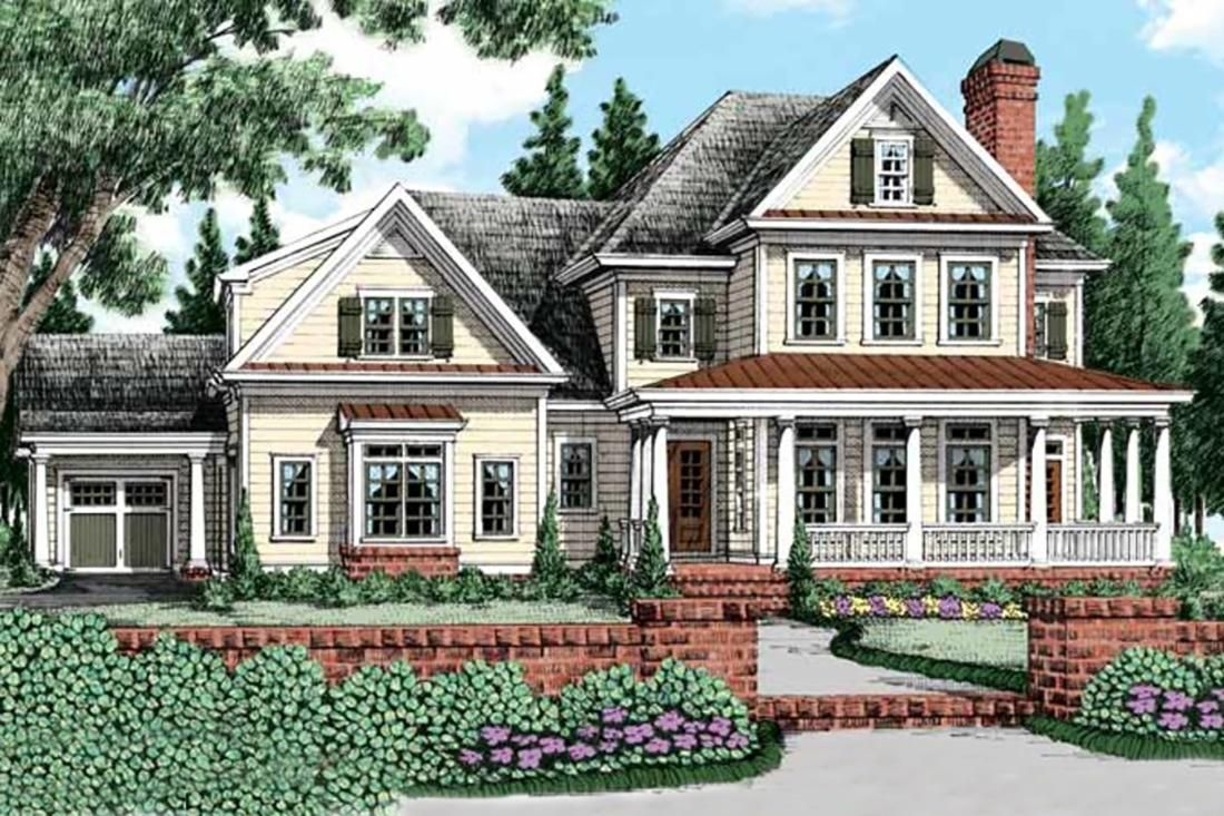 House Plan 8594 00226 Farmhouse Plan 3 956 Square Feet 4 Bedrooms 4 5 Bathrooms In 2020 House Plans Farmhouse Farmhouse House Country House Plans