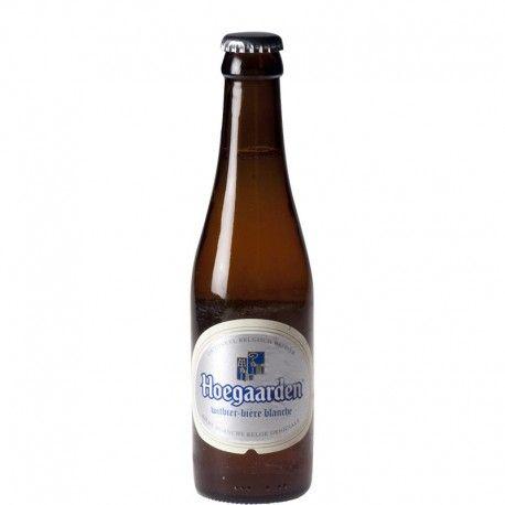 Etiquette de bière 75cl blanche St-Georges