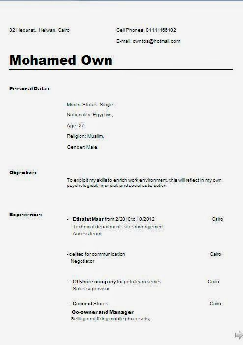 creative professional resumes Sample Template Example of Excellent - company profile template doc