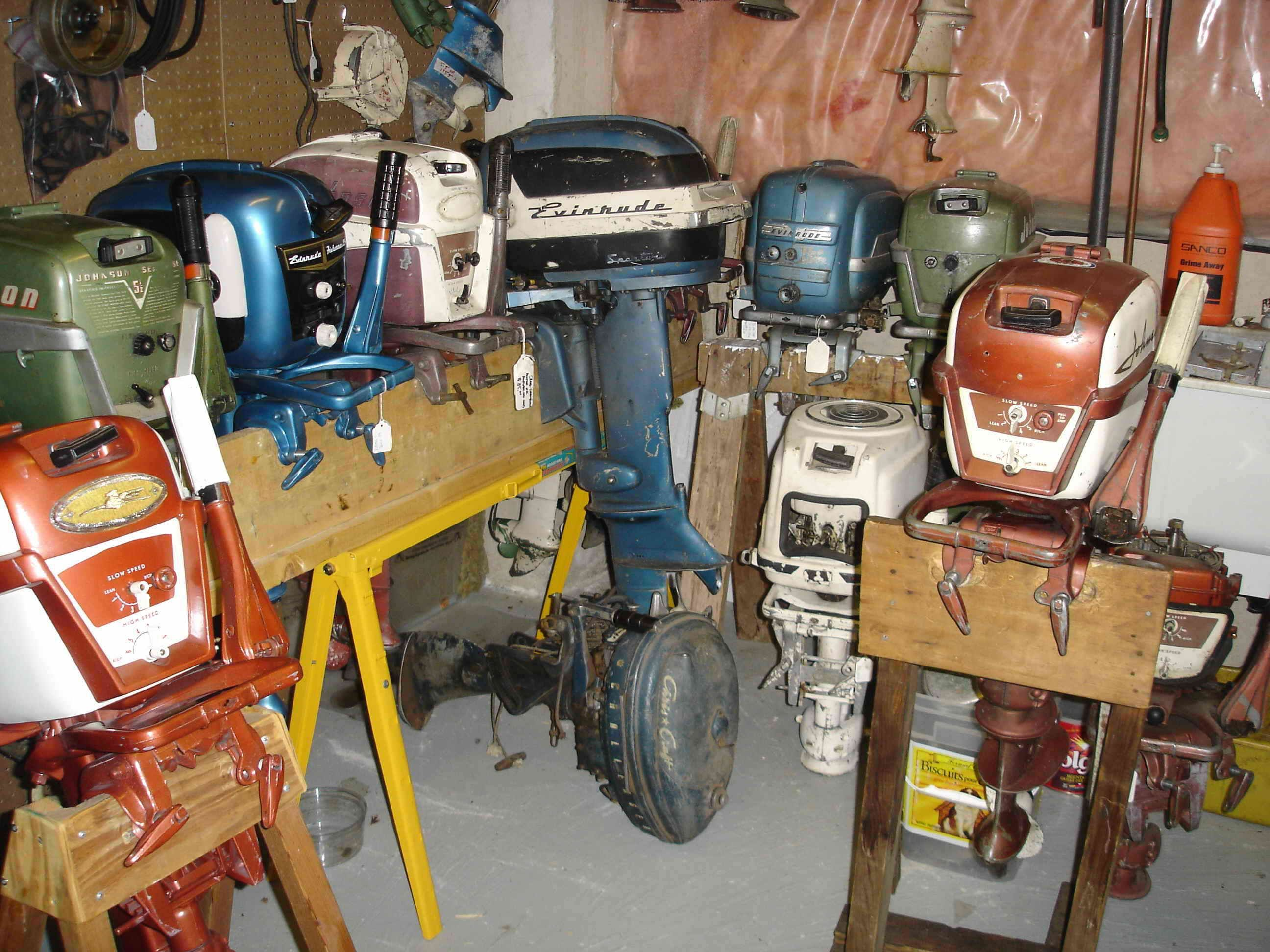 Restored and Unrestored Motors Available   Old Outboard Motors ...