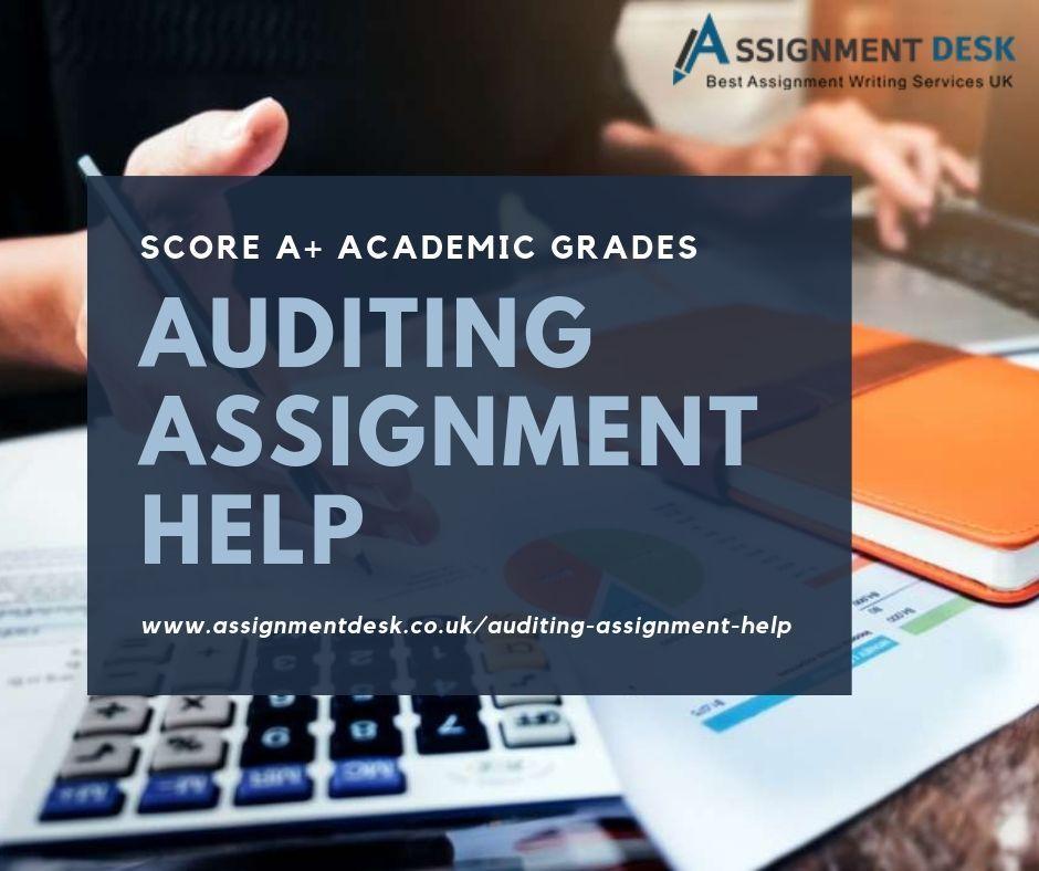 Auditing homework help