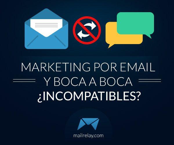 Marketing por email y boca a boca ¿Incompatibles? http://blgs.co/OrKk04