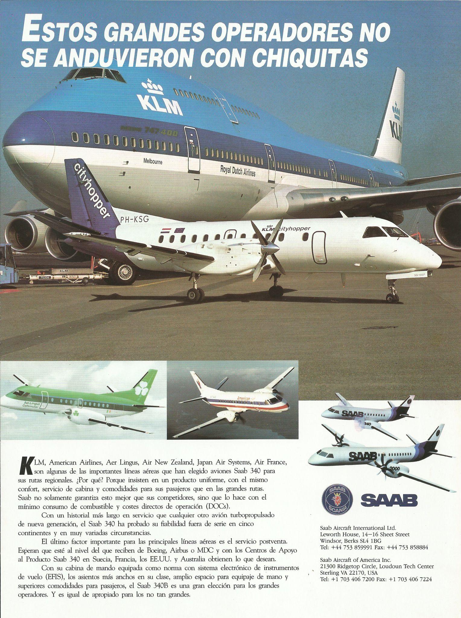 SAAB 340 | Saab aircraft | Saab 340, Airplane, Aircraft