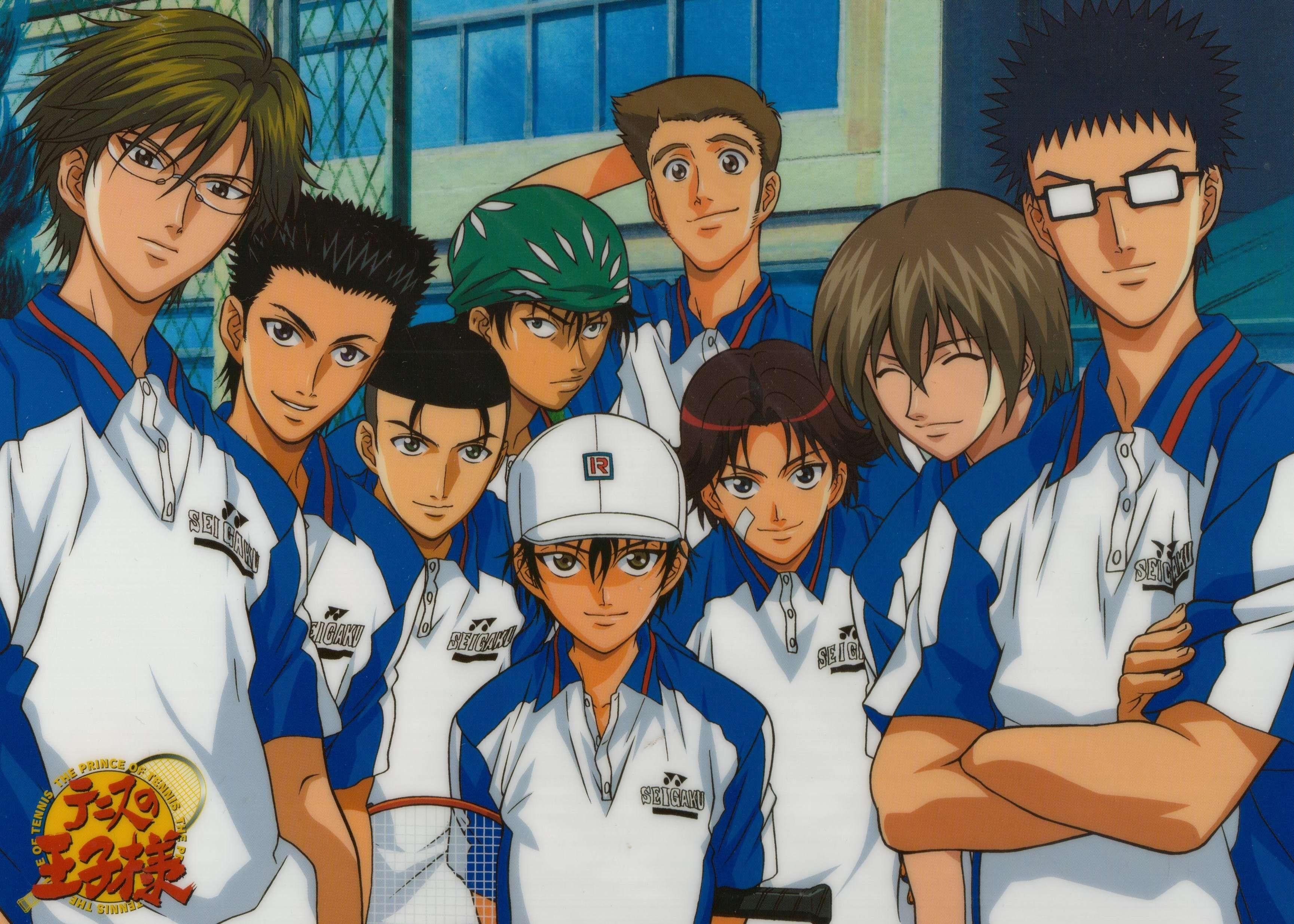 Prince Of Tennis Prince Of Tennis Anime The Prince Of Tennis Tennis