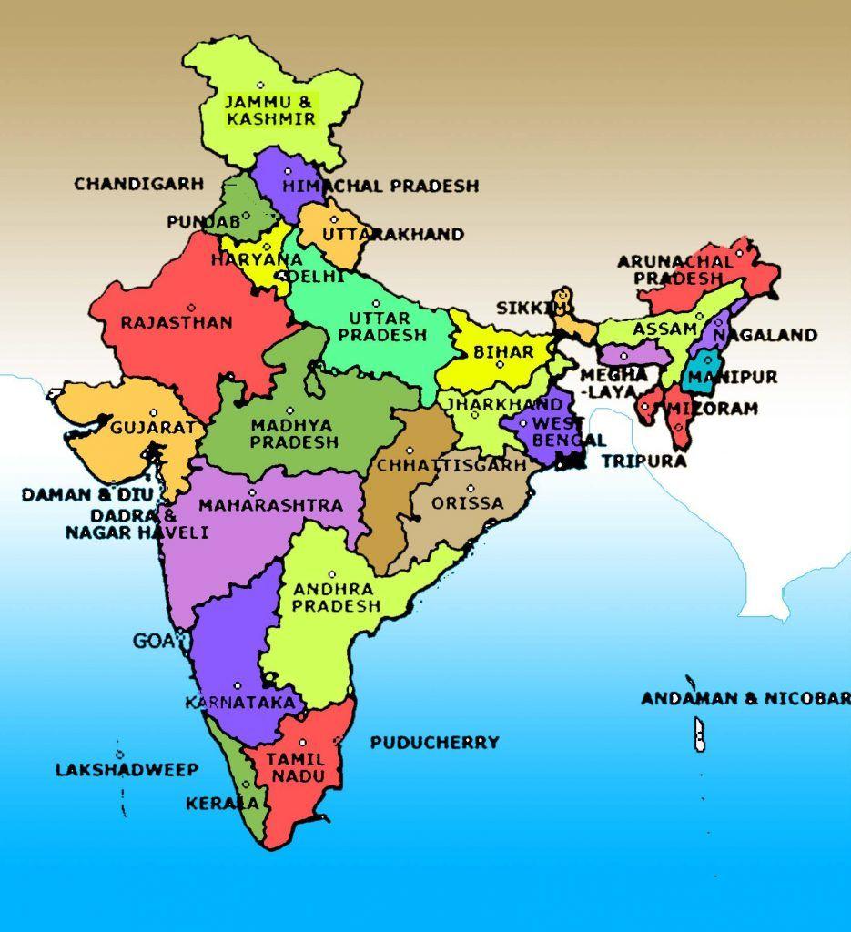 Colours full India map | India in 2019 | India map, Cat ... on arabian sea map, korea map, indian subcontinent map, canada map, australia map, france map, africa map, california map, andhra pradesh map, china map, russia map, time zone map, maharashtra map, japan map, sri lanka map, europe map, karnataka map, texas map, brazil map,