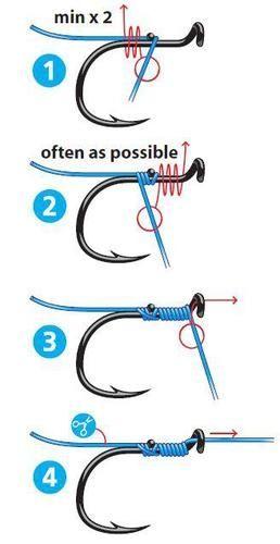 Coarse Fishing Hooks Easy 2 Hook Roach Hooks Size 16 Fishing Knots Knots Fishing Rigs