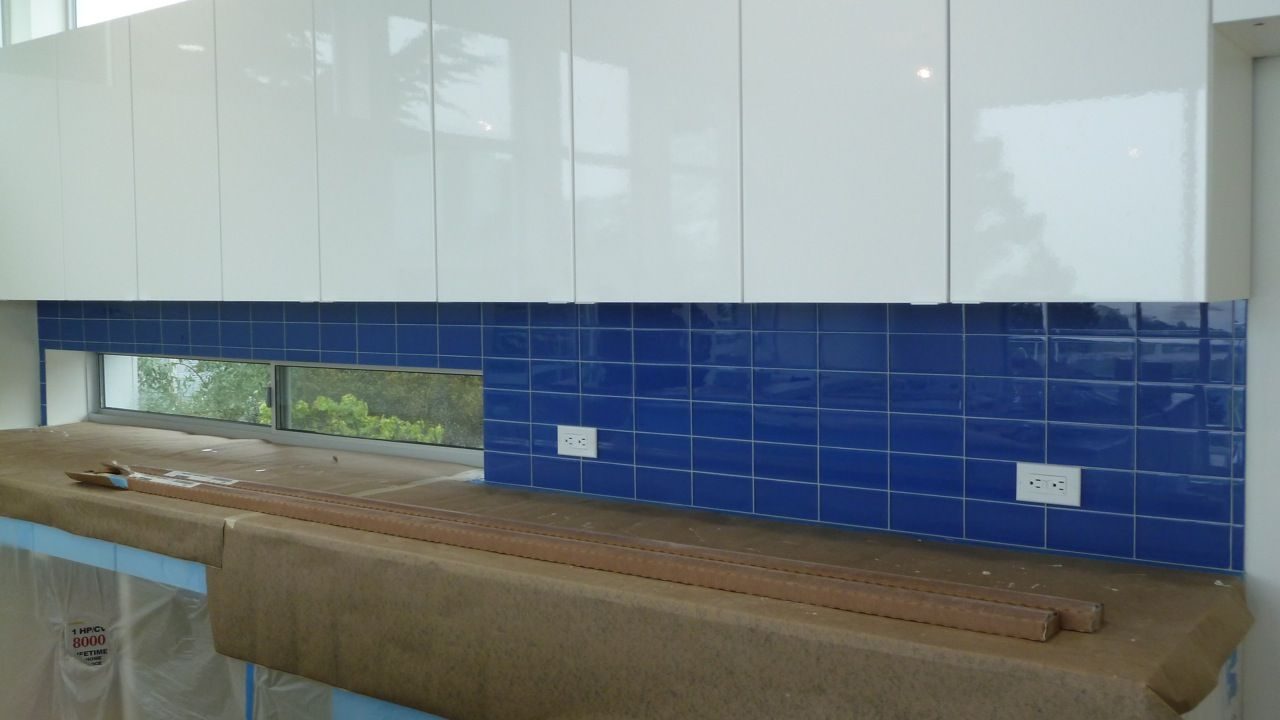 Cobalt Glass Subway Tile | Subway tiles, Subway tile backsplash and ...