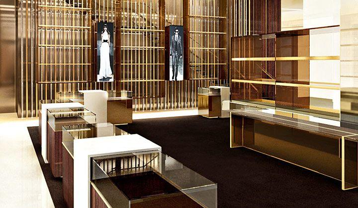 Gucci Flagship Store 5th Avenue New York Retail Design Blog Retail Store Design Retail Design Showroom Design