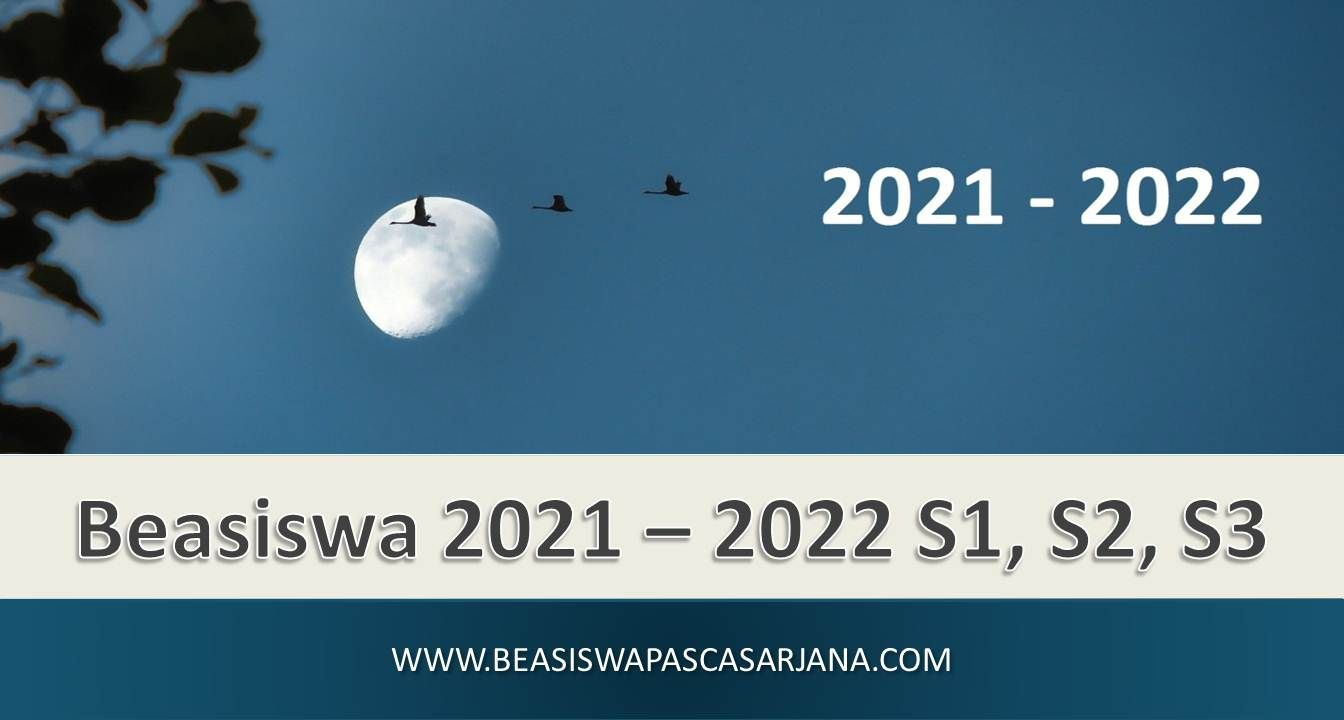 Pendaftaran Beasiswa 2020 Beasiswa 2021 S1 S2 S3 Pengikut Aplikasi
