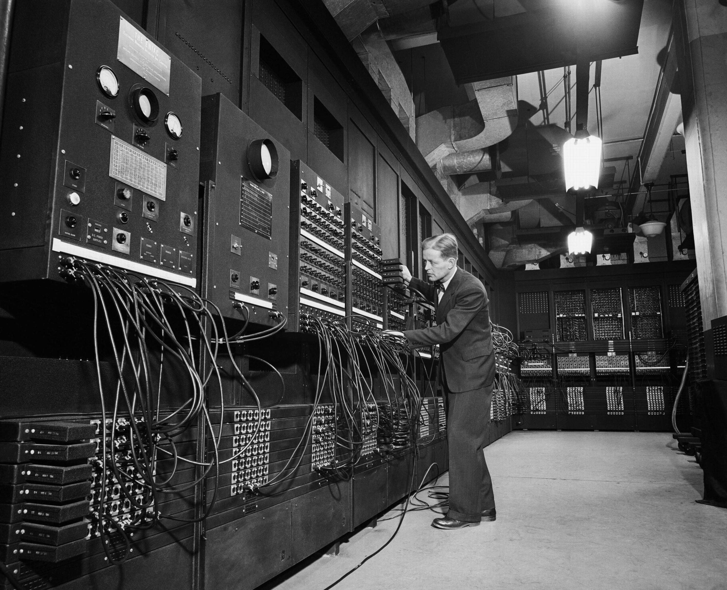 ENIAC Electronic Numerical Integrator And Computer the