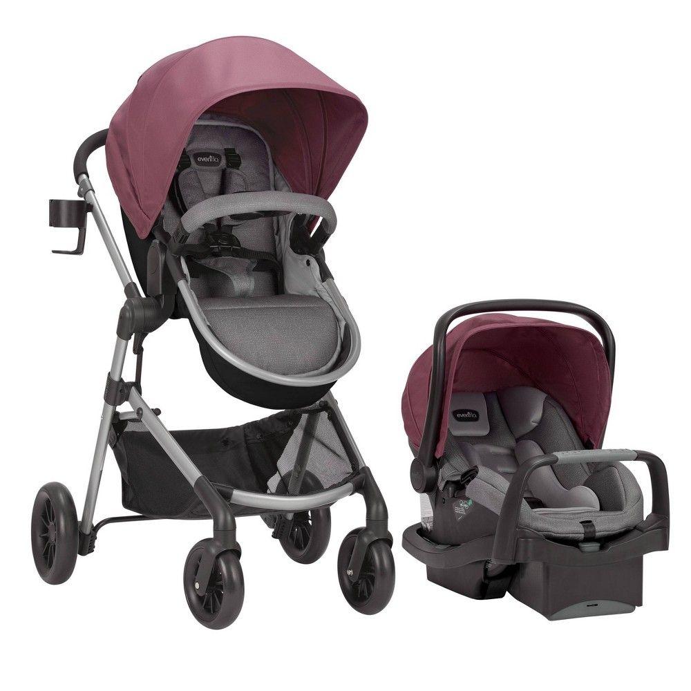 Evenflo Pivot Modular Travel System with SafeMax Infant
