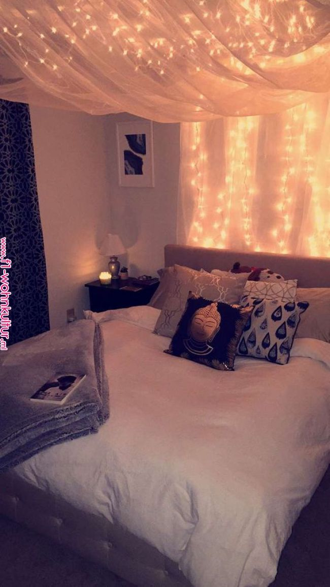 Fairylights Room Furnishing Bedroom Decor Cozy Room