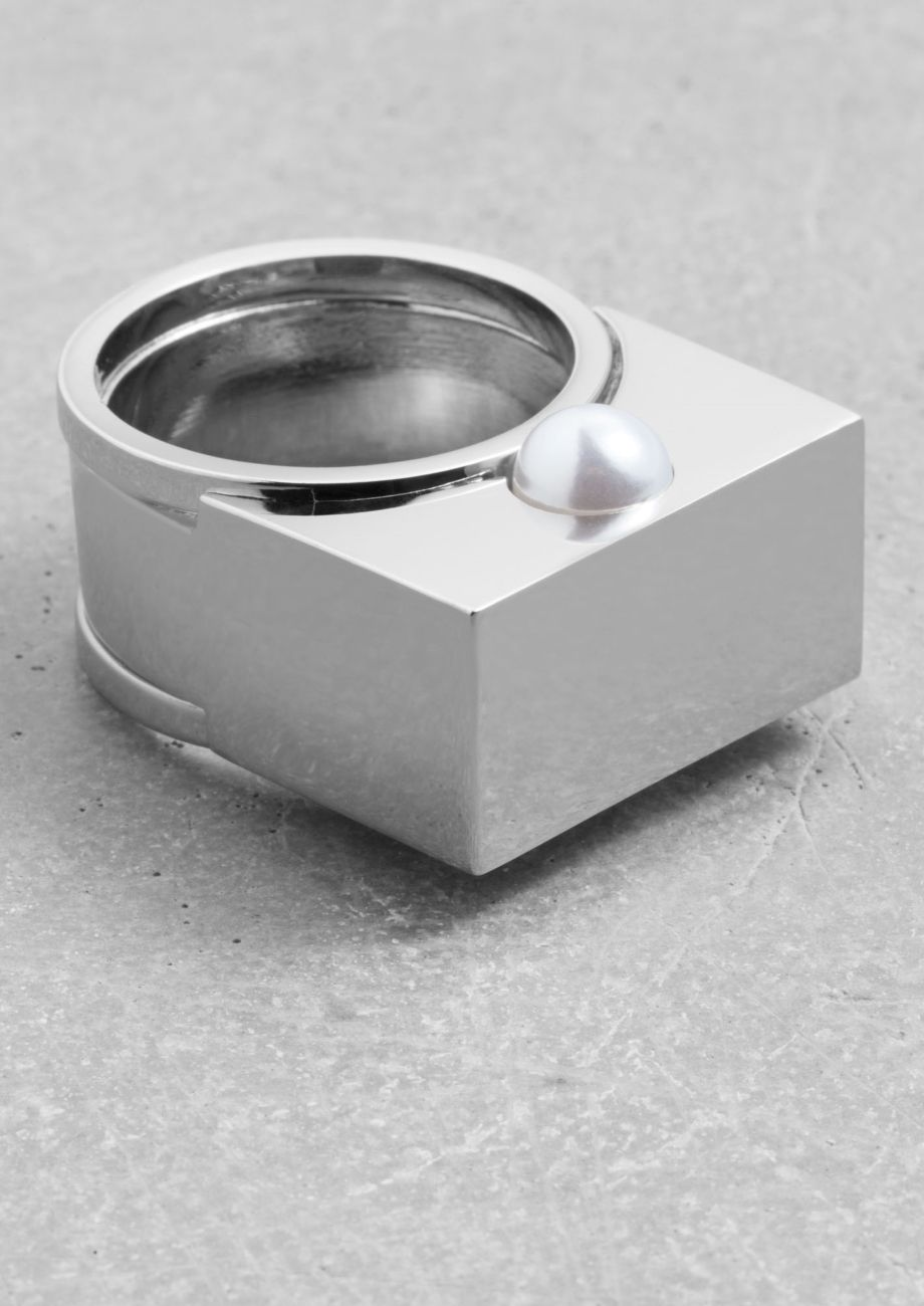 & Other Stories | Shiny Block Ring