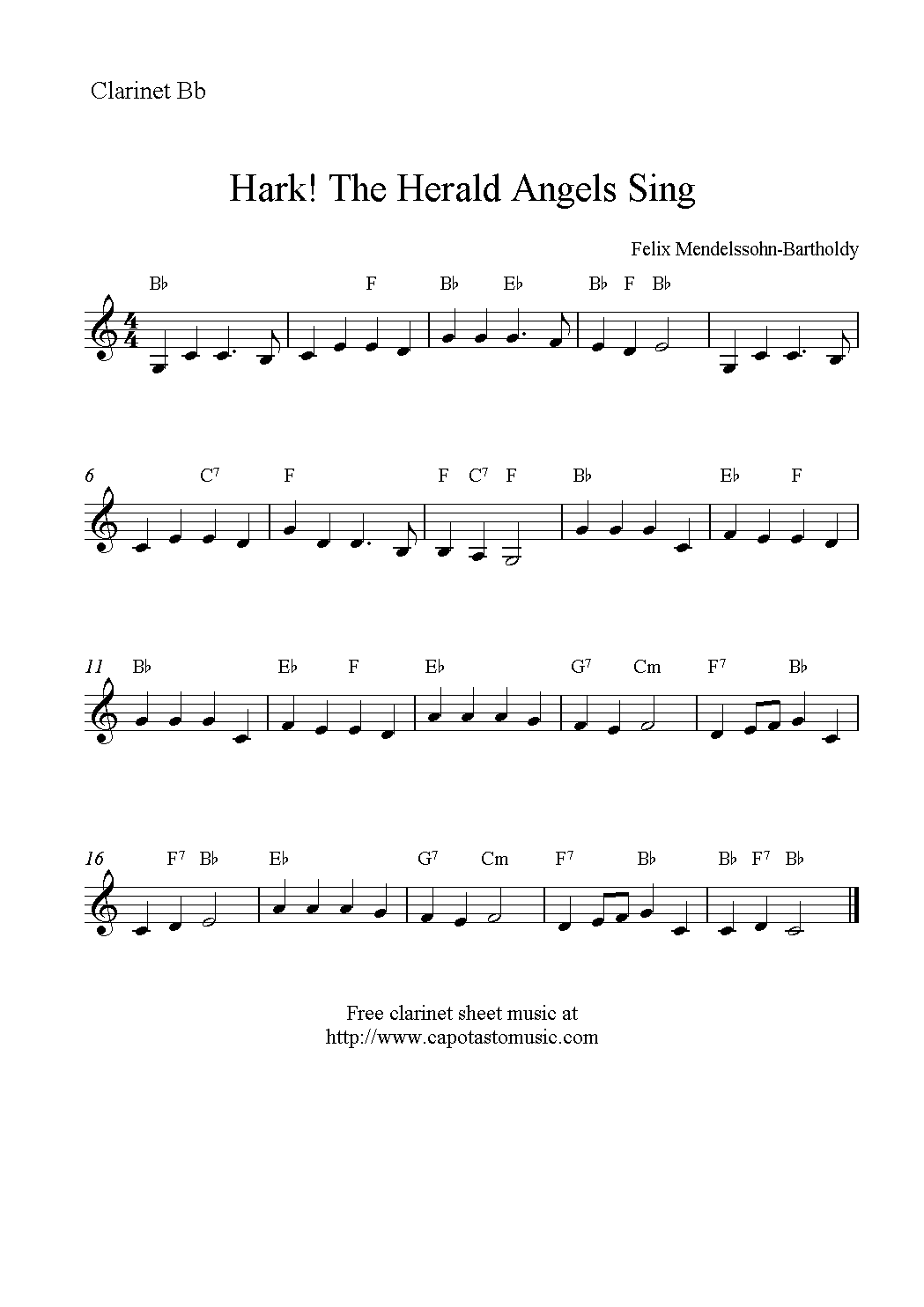 christmas clarinet sheet music free - Google Search | Music ...