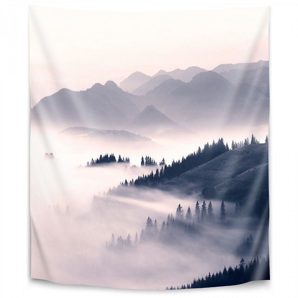 Americanflat Morning Sun By Sisi And Seb 26 X36 Wall Tapestry In 2020 Tapestry Wall Tapestry Mountain Tapestry