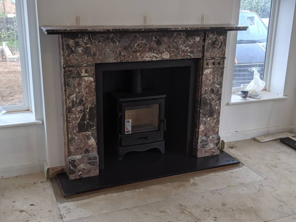 A Restored And Refitted Fireplace We Restored The Original