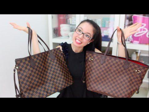 a40eb255bdd8 How to spot a fake Louis Vuitton bag - YouTube   Shoes & Handbags in ...