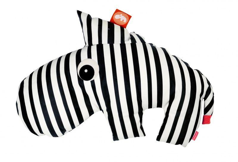 Zitzak Zebra Zebee - Zwart/wit | Done by Deer | SackJack | Zebra | Monochrome | black and white