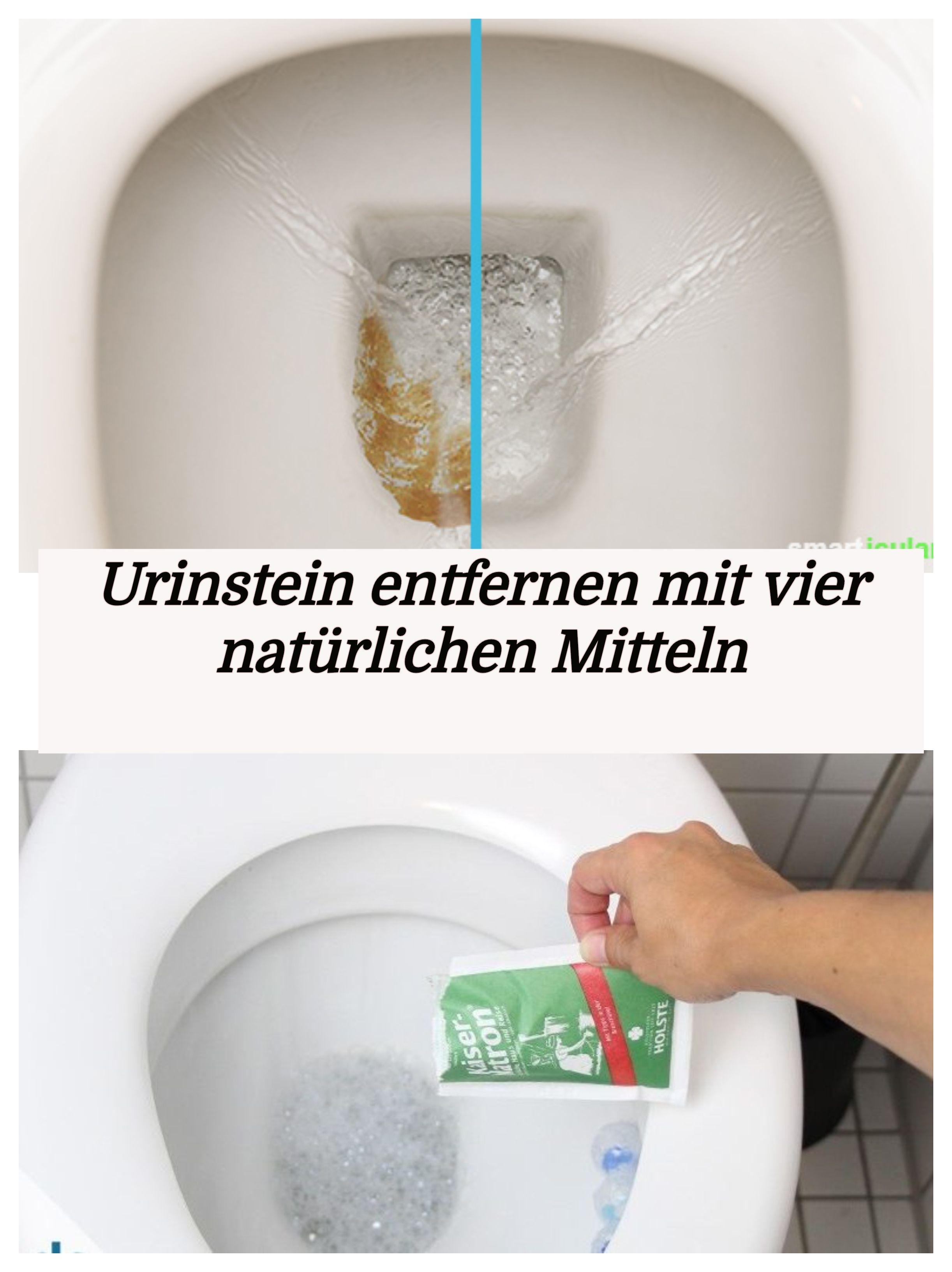 Favorit Urinstein entfernen mit vier natürlichen Mitteln | wc | Natürliche OK33