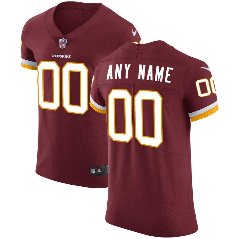 premium selection 130e9 9a2ce Washington Redskins Nike Vapor Untouchable Custom Elite ...