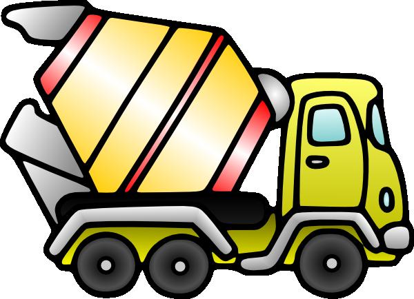Mixer Truck Clip Art At Clker Com Vector Clip Art Online Royalty Clip Art Mixer Truck Trucks