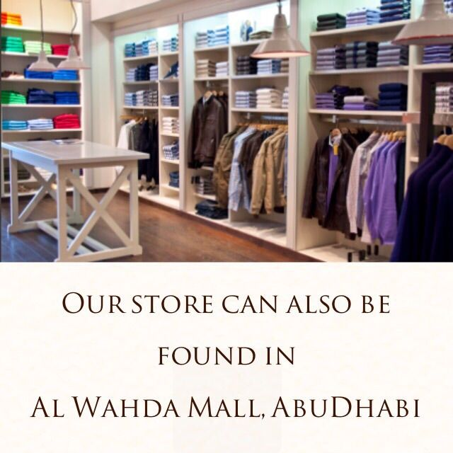 Find us in Al Wahda Mall, Abu Dhabi also!!! | River Woods