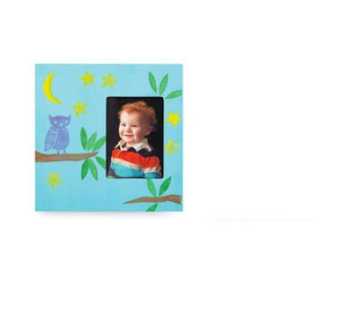 Foam Stamped Frame, large | Classroom Fun! | Pinterest | Foam stamps ...