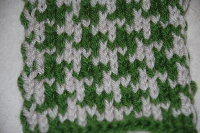 How to Knit a Houndstooth Pattern | Knitting, Houndstooth ...