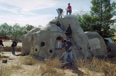 Maisons En Sac De Terre
