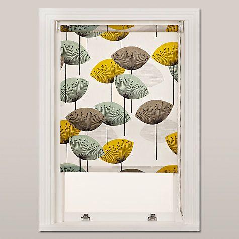 Buy Sanderson Dandelion Clocks Roller Blind, Chaffinch Online At  Johnlewis.com
