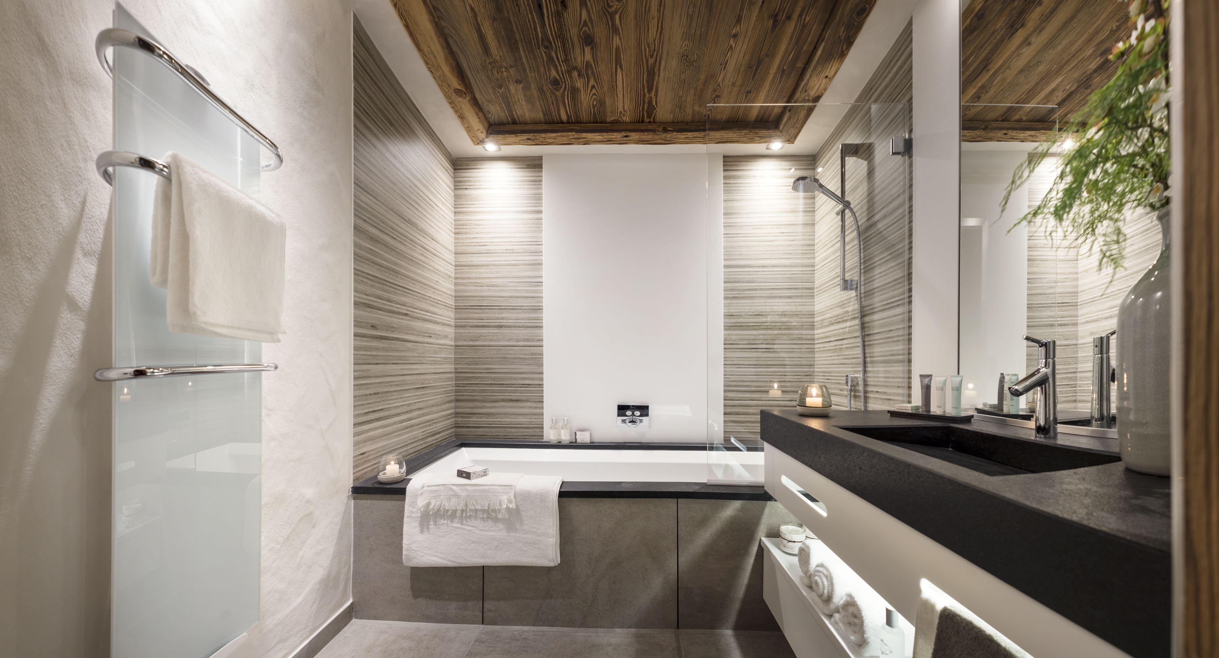 Salle de bain prestige et luxe. Décoration contemporaine ...