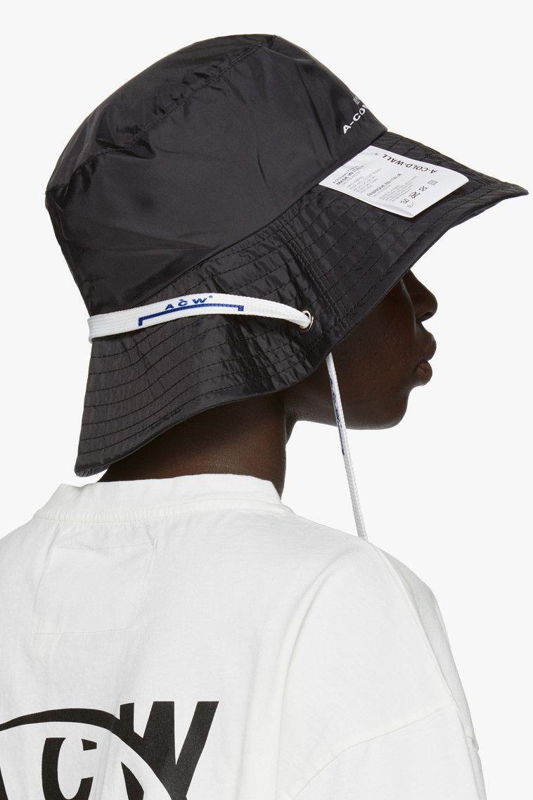 ad7b74567e40d Shop New Accessories from A-COLD-WALL* Hats Bucket Hat Cap Hood Samuel Ross
