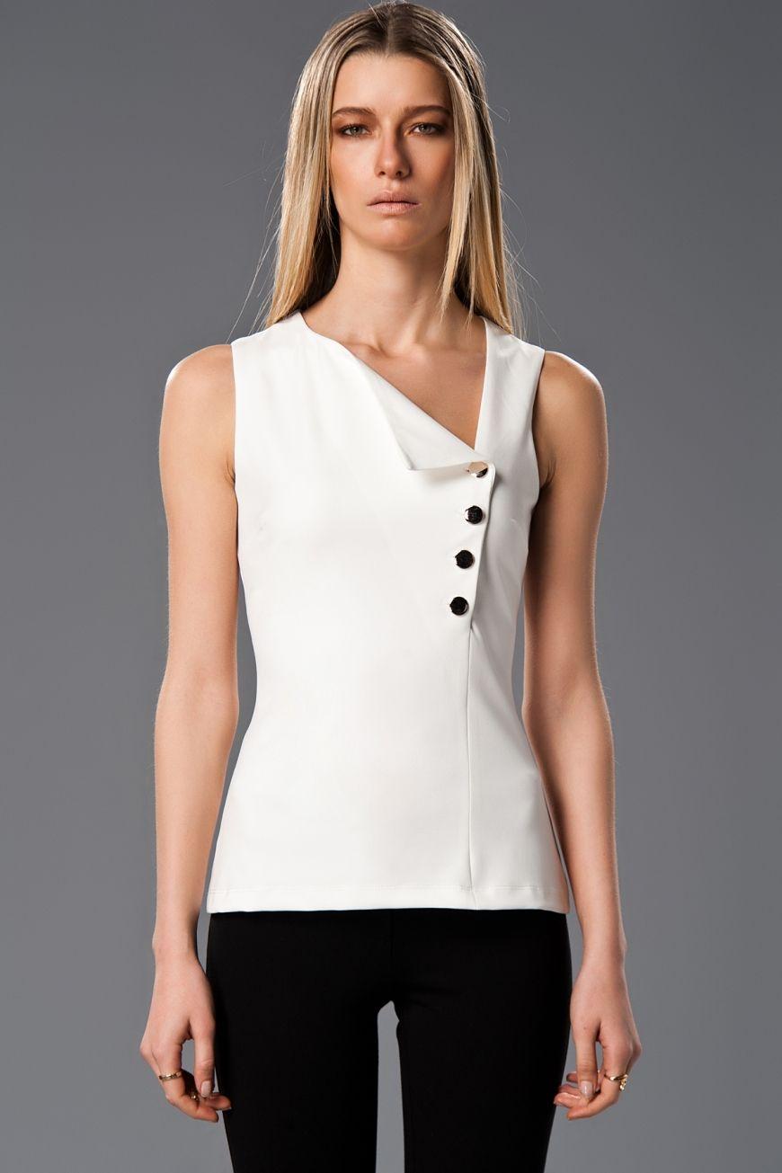 Milla By Trendyol Ekru Bluz Tops Womens Tops Summer Fashion