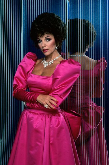 Joan Collins as Alexis Colby in Dynasty | the westing game ...