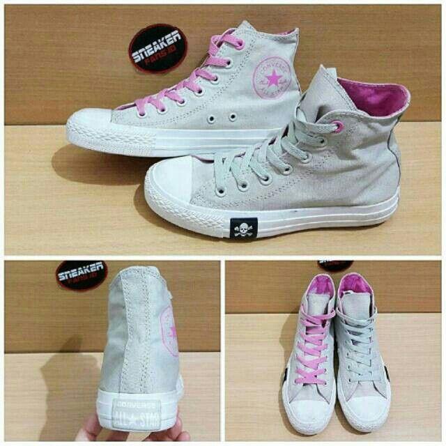 Saya menjual Converse - Chuck tylor fashion skull grey/pink seharga Rp490.000. Dapatkan produk ini hanya di Shopee! https://shopee.co.id/ir_98/248269197 #ShopeeID