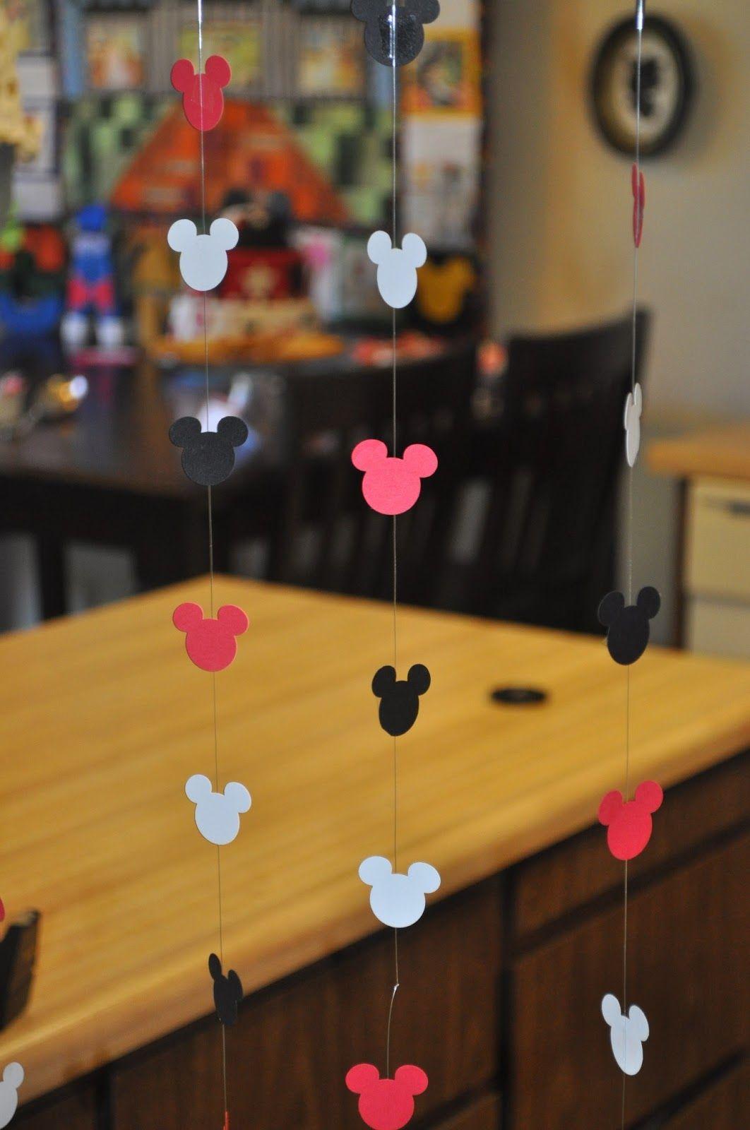 Mickey Mouse Door Curtain